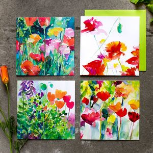 Poppy Garden Card Collection