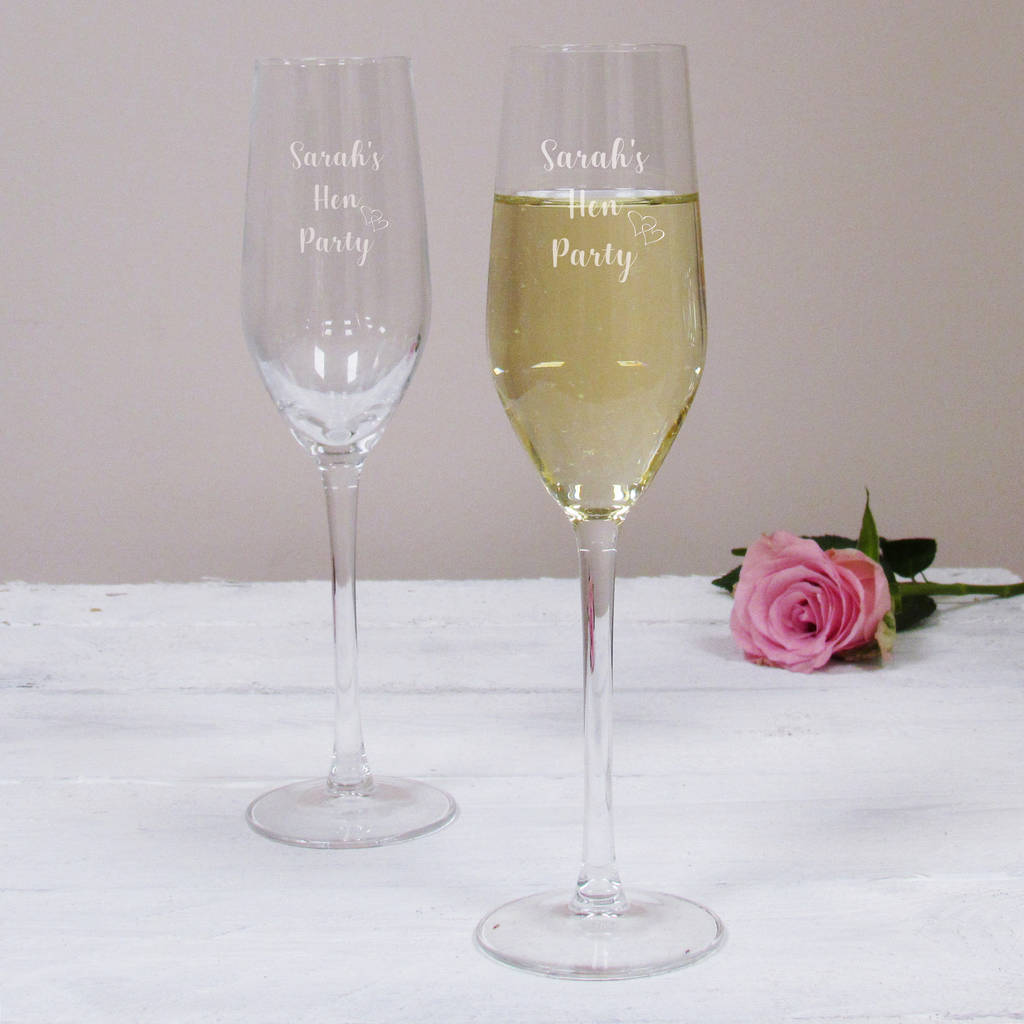 12215e2512d personalised hen party champagne flute by perfect personalised gifts ...