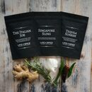 Gourmet Three Pouch Flavoured Salts Gift Collection