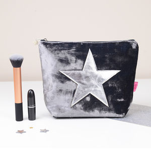 Velvet Star Make Up Bag