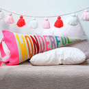 Wonderful Pennant Shaped Cushion