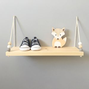 Handmade Wooden Swing Shelf - children's furniture
