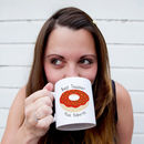 Donut Personalised Teacher Mug Gift