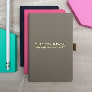 Personalised 'Favourite Child' Notebook - mother's day gifts