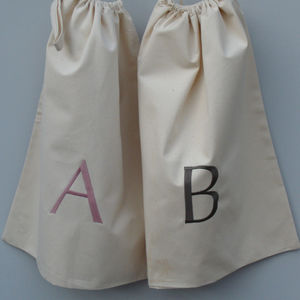 Personalised Canvas Drawstring Bag - children's room accessories