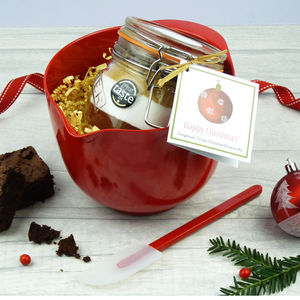 Christmas Chocolate Brownie Baking Set - kitchen