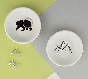 Mens Trinket And Coin Dish Adventure Collection