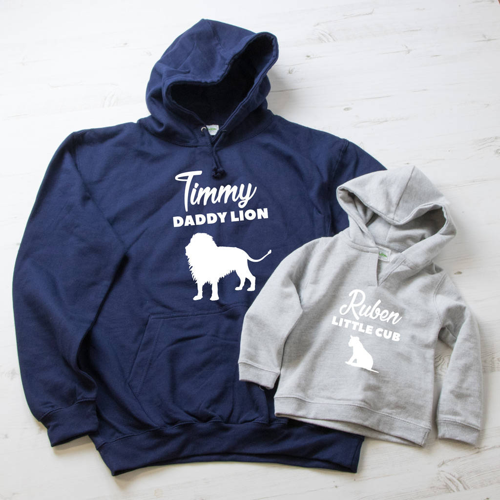 Personalised Father's Day Hoody Set