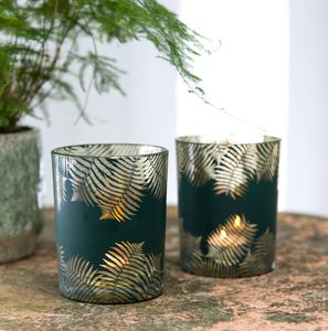 Fern Leaf Tea Light Holder