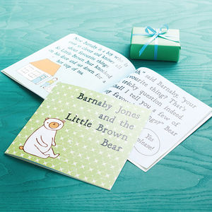 Personalised Children's Story Book - personalised gifts for babies