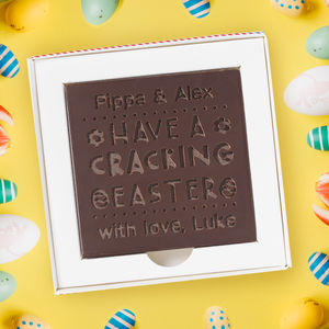 Personalised 'Cracking Easter' Chocolate Card - view all new