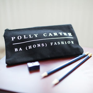 Personalised Graduate Pencil Case