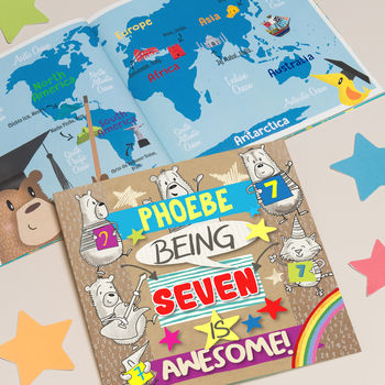 Personalised 7th Birthday Children's Book