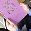 Personalised Book Just Of You