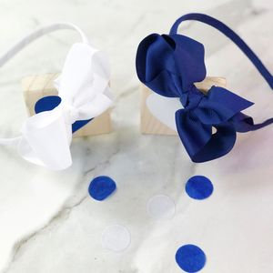 Set Of Two Traditional Bow Headbands - baby & child sale