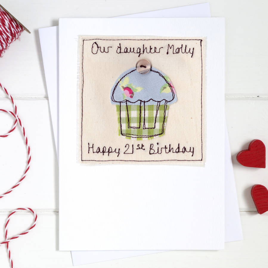 Personalised Birthday Cake Card By Milly And Pip
