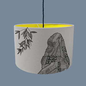 Gorilla Lampshade With Fabric Colour Options - lampshades