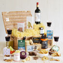 Connoisseur's Wine And Cheese Basket