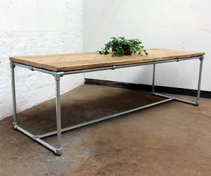 Carly Reclaimed Scaffold Board Table