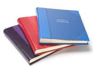 Large Leather Scrapbook - scrapbooks & sketchbooks