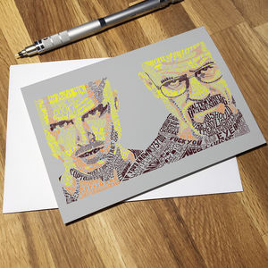Breaking Bad Greetings Card
