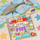 Personalised 5th Birthday Children's Book