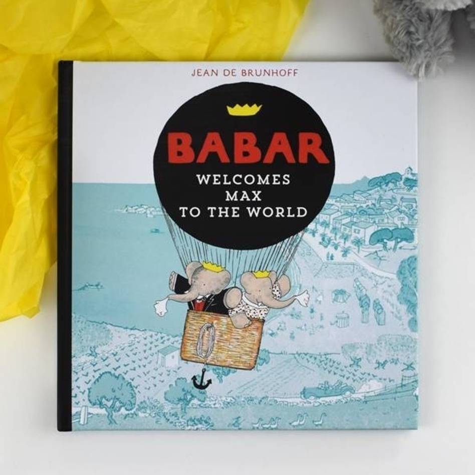 Personalised Babar The Elephant Book