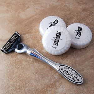 Worlds Best Grandad Razor - gifts for grandparents