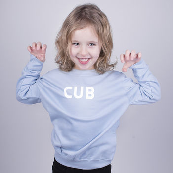 'Cub' Children's Sweatshirt Jumper