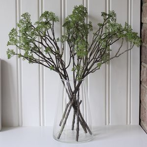 Artificial Grey Berry Spray - artificial flowers