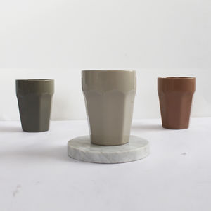 Ceramic Grey Cup - shop by price