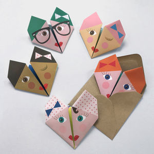Origami Notepaper Set : Bella