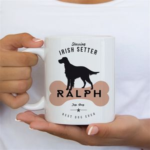 Irish Setter Dog Owners Mug And Tableware - personalised