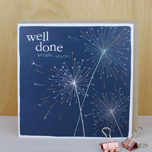 Well Done Greetings Card - whatsnew
