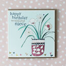 Niece Birthday Greetings Card
