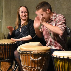 African Drumming Workshop For Two - winter sale