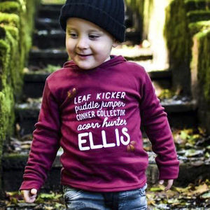 Personalised Autumn 'Alter Ego' Kids Top - gifts for children