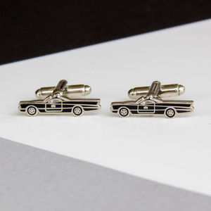 Batmobile Tv Car Cufflinks
