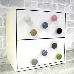 Ceramic Colourful Cupboard Cabinet Drawer Pulls - door knobs & handles
