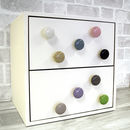 Ceramic Colourful Cupboard Cabinet Drawer Pulls
