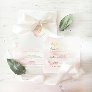 Sophie Invitation - wedding stationery