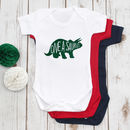 First Birthday Dinosaur Babygrow