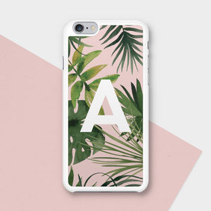 Tropical Personalised Phone Case