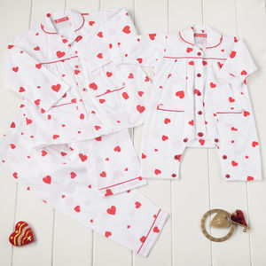 Sibling Sweetheart Pyjamas Set