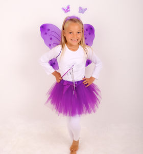 Princess Fairy Set Purple - fancy dress