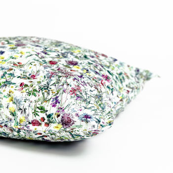 Pillowcase Made With Liberty Fabric 'Wild Flowers'