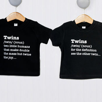 Twin Definition T Shirt