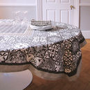 Luxury Pattern Cotton Tablecloth