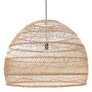 Large Wicker Hanging Lamp