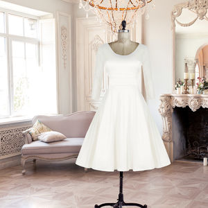 Ivory Phoebe Wedding Dress - women's fashion